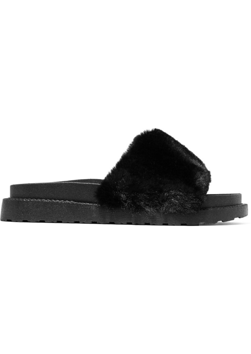 57c8a6deb4f5 Sam Edelman Sam Edelman Blaire faux fur slides