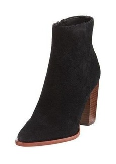 Sam Edelman Blake Suede Zip-Up Bootie