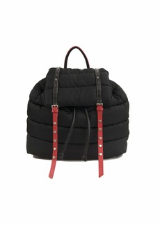 Sam Edelman branwen Flap Backpack black/red