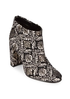 Sam Edelman Cambell Floral Leather Booties