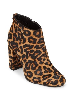 Sam Edelman Cambell Leather & Fur Booties