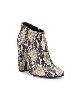 Sam Edelman Campbell Printed Leather Ankle Boots
