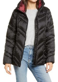 Sam Edelman Chevron Quilted Puffer Jacket