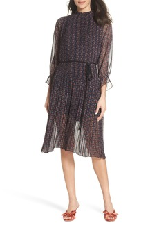 Sam Edelman Chiffon Peasant Dress