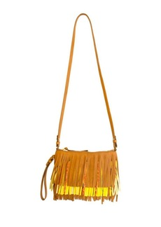 Sam Edelman Claudia Convertible Leather Fringe Crossbody Bag