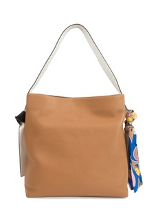 Sam Edelman Cleo Scarf Leather Hobo Bag