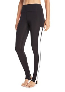 Sam Edelman Colorblock Lightweight Active Stirrup Leggings