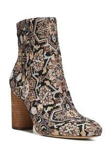 Sam Edelman Corra Woven High Block Heel Booties