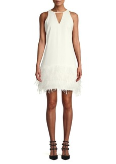 Sam Edelman Cut-out Feather Dress