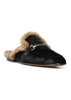 Sam Edelman Danica Velvet and Faux Fur Mules