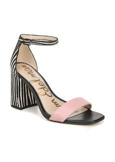 Sam Edelman Daniella Ankle Strap Genuine Calf Hair Sandal (Women)