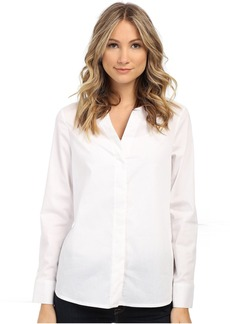 Sam Edelman Devon Hidden Placket Long Sleeve Blouse