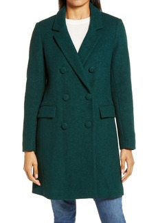 Sam Edelman Double Breasted Bouclé Coat