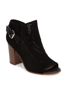 Sam Edelman Easton Perforated Open Toe Bootie (Women)