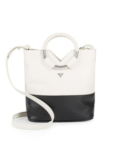 Sam Edelman Elina Mini Colorblock Leather Crossbody Bag