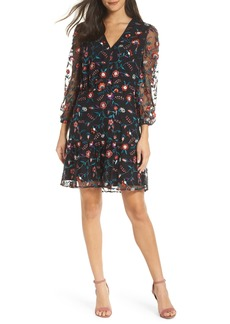 Sam Edelman Embroidered Mesh Dress