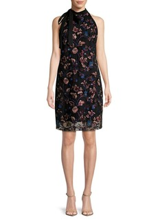 Sam Edelman Embroidered Sheath Dress