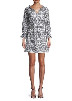 Sam Edelman Embroidered Shift Dress