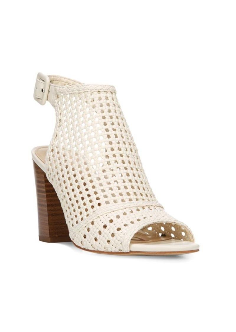 425b00027fc2e8 Sam Edelman Sam Edelman Evie Basket-Weave Leather Sandals