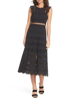 Sam Edelman Eyelet Midi Dress