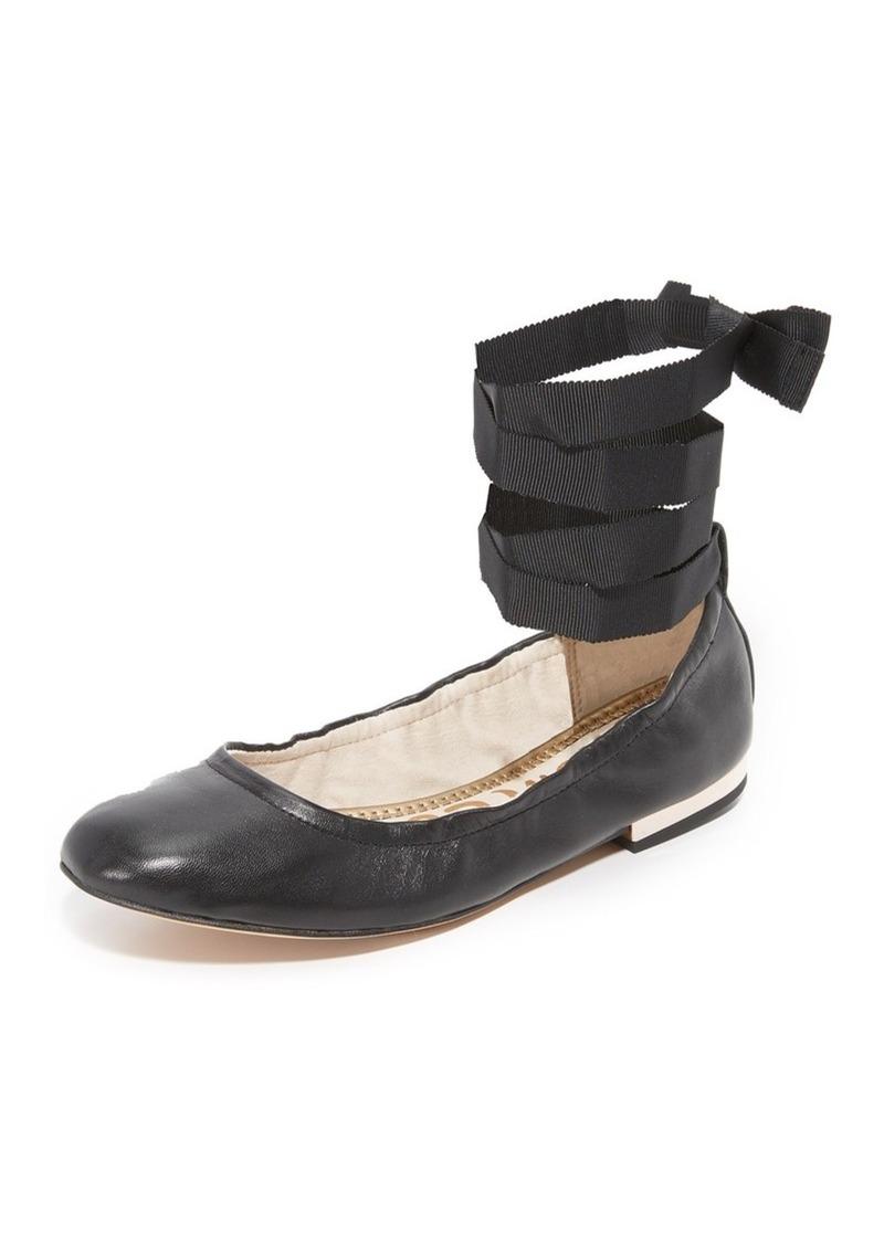 2c1d023b6 Sam Edelman Sam Edelman Fallon Lace Up Ballet Flats | Shoes