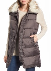 Sam Edelman Faux Fur Trim Puffer Vest
