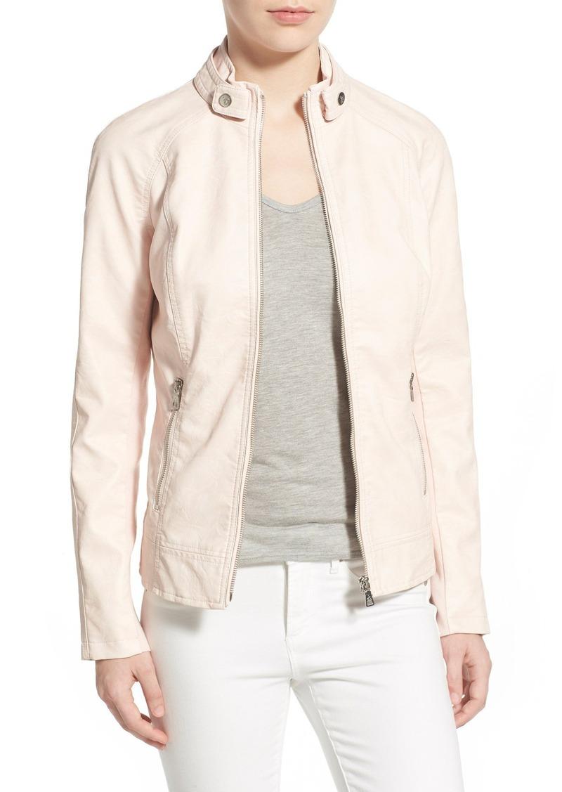 Sam Edelman Faux Leather Moto Jacket