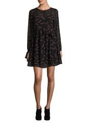 Sam Edelman Feather A-Line Dress