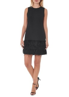 Sam Edelman Feather Hem Sheath Dress