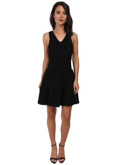 Sam Edelman Fit & Flare Ottoman Sweater Dress