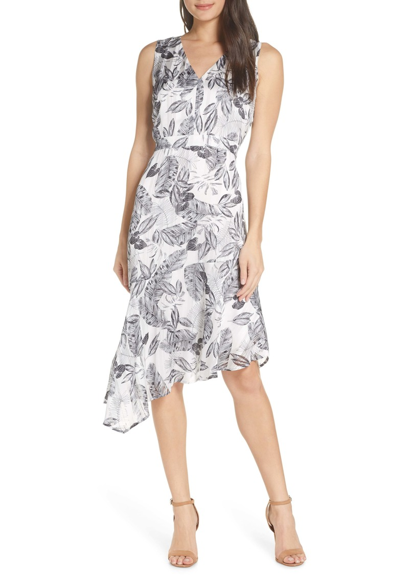 Sam Edelman Floral Asymmetrical Dress