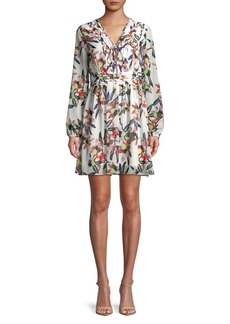 Sam Edelman Floral Fit-&-Flare Dress