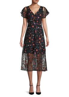 Sam Edelman Floral Maxi Dress
