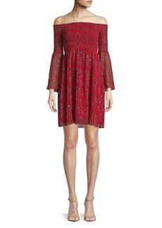 Sam Edelman Floral-Print Mini Dress