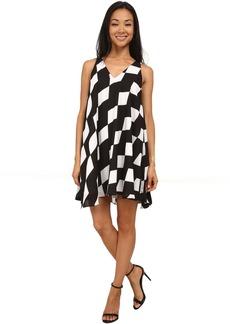 Sam Edelman Full Double V Shift Dress