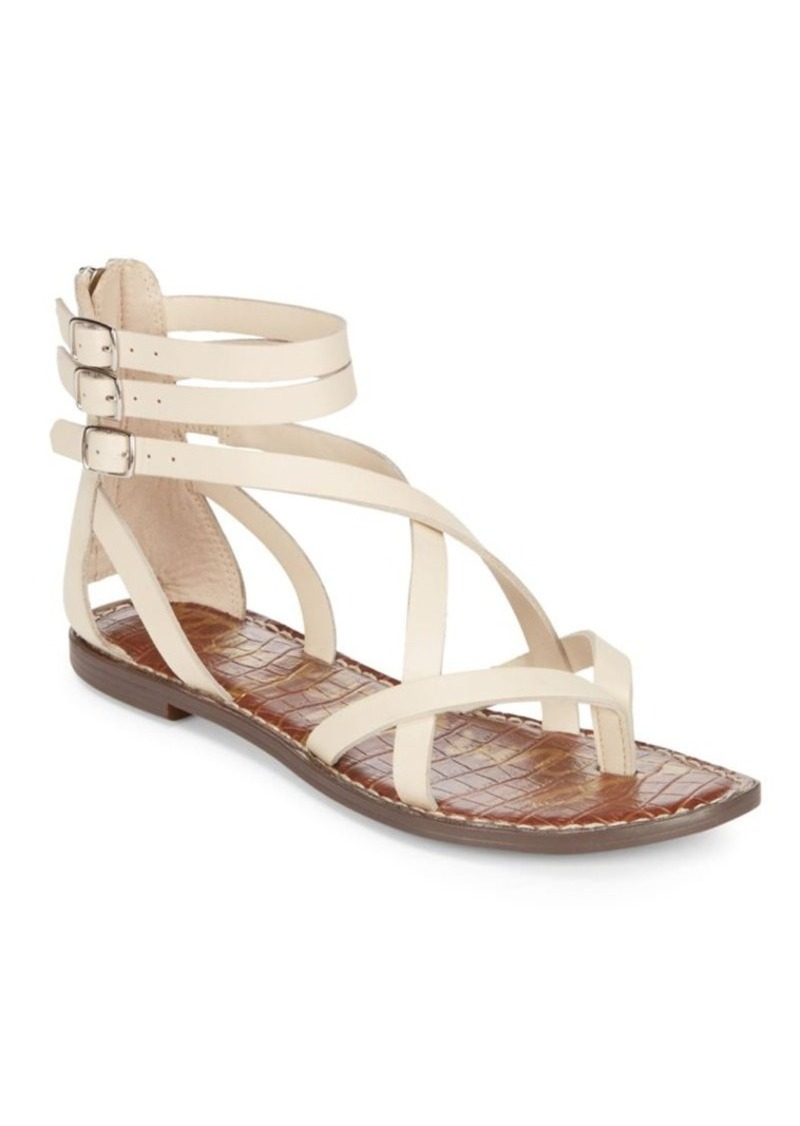 109871651 Sam Edelman Sam Edelman Gallagher Leather Flat Sandals