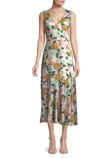 Sam Edelman Gathered Floral Dress