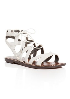 Sam Edelman Gemma Caged Lace Up Sandals