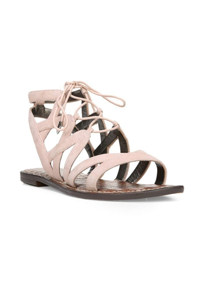 5fe66b11430 On Sale today! Sam Edelman Sam Edelman Gemma Lace-Up Gladiator Sandals