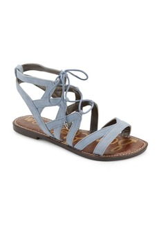 Sam Edelman Gemma Lace-Up Leather Sandals