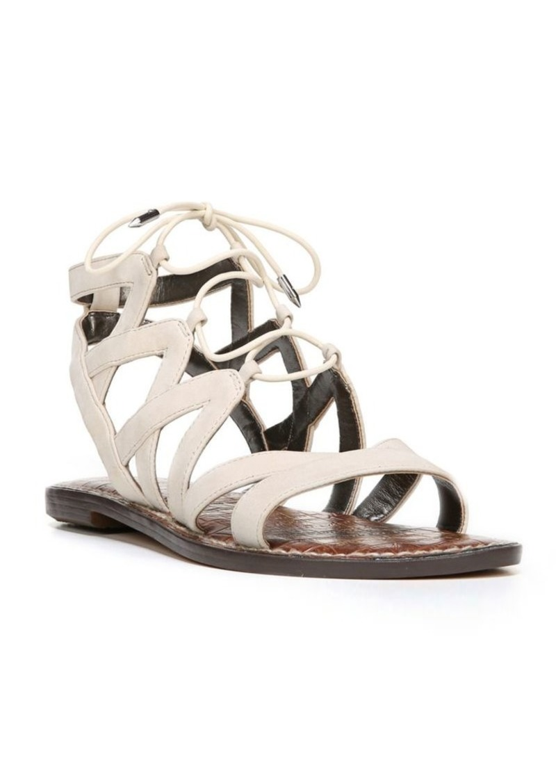 86826ee3b446 Sam Edelman Gemma Leather Ghillie Lace Sandals