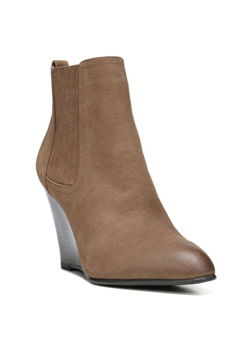 sam edelman sam edelman gillian leather wedge ankle boots