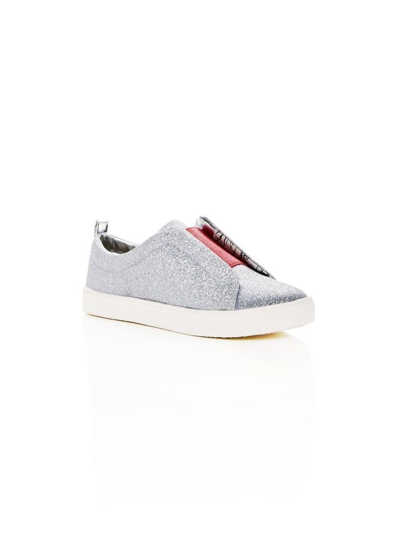 7a5da3eb1d517 Sam Edelman Sam Edelman Girls  Bella Emma Glitter Slip-On Sneakers ...