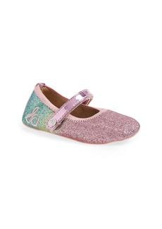 7a6a41739875 Sam Edelman Glitter Rainbow Dancer Mary Jane Crib Shoe (Baby)