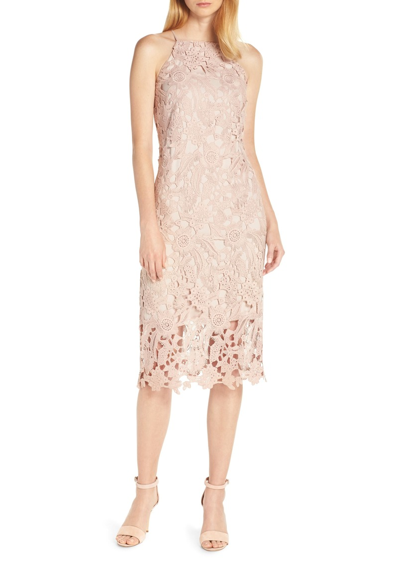Sam Edelman Halter Top Lace Dress