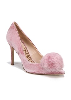 Sam Edelman Haroldson Pump with Faux Fur Pompom (Women)