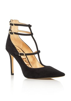 Sam Edelman Hayes T-Strap Pointed Toe Pumps