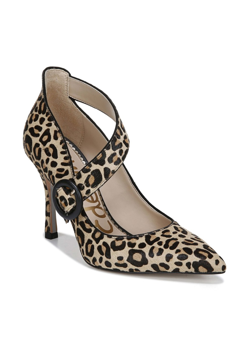 Sam Edelman Hinda Genuine Calf Hair Pointed Toe Pump (Women)