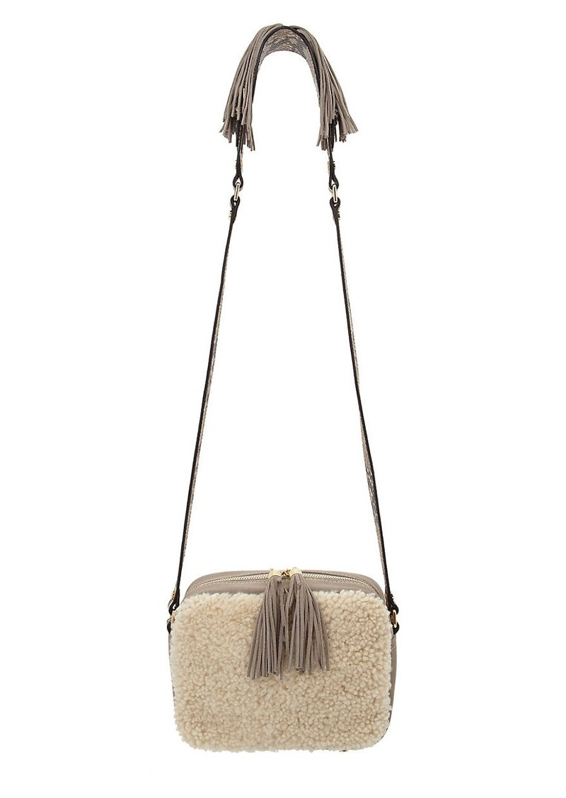 SAM EDELMAN Holbrook Shearling Crossbody Bag