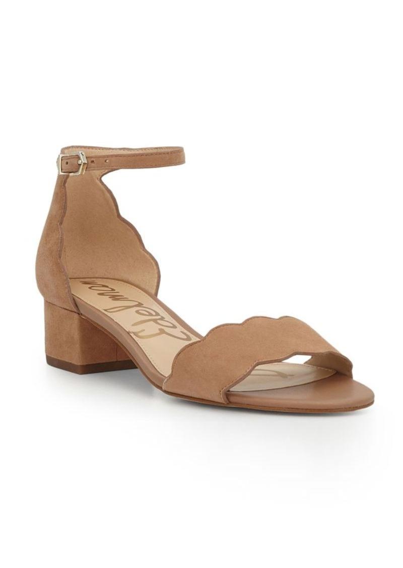 be57c9519 Sam Edelman Sam Edelman Inara Scallop Block Heel Sandals